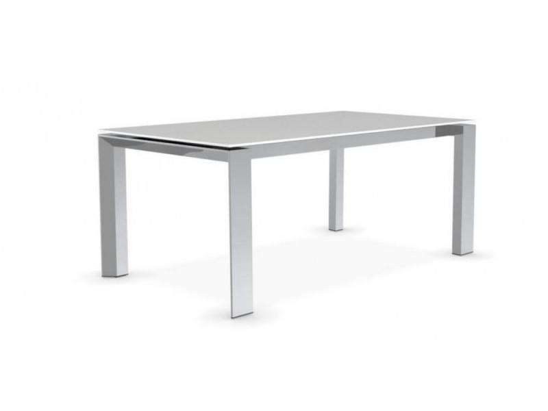 Extensible Sérigraphié Table 180x100 Repas En Royal Dépoli Verre FJ13clTK