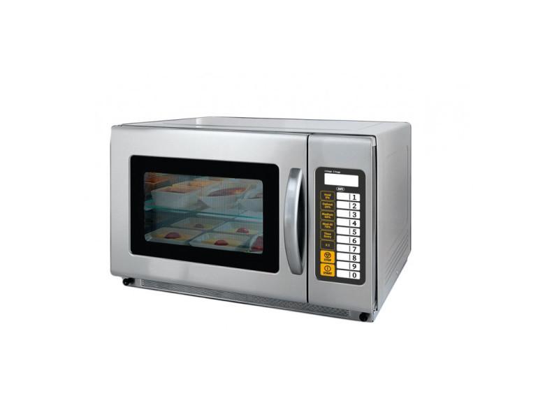 Four micro ondes professionnel 35 l - 5 niveaux de puissance - afi collin lucy - 3500 cl
