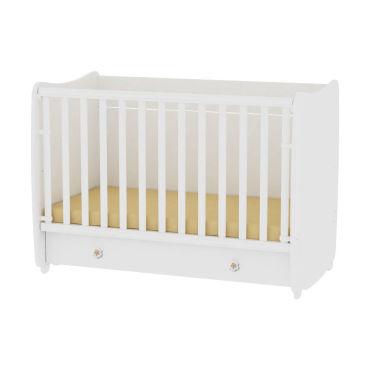 Lit bébé évolutif combiné transformable dream 60x120 blanc 10150420024 vente de lorelli conforama