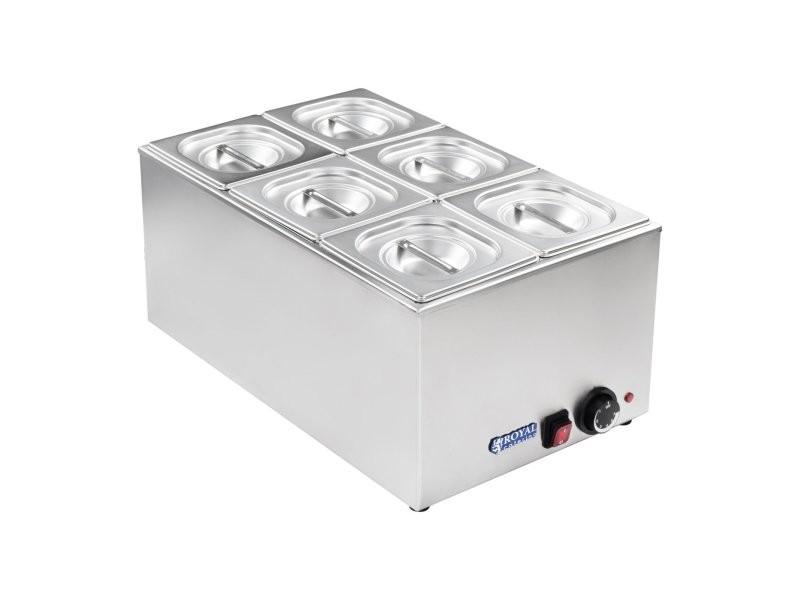 Bain-marie électrique professionnel bac gn 1/6 1 200 watts helloshop26 3614105
