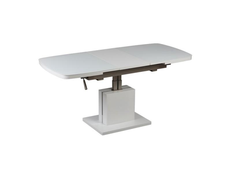 Table basse relevable extensible magic l 120 x l 70 x - Table basse relevable extensible conforama ...