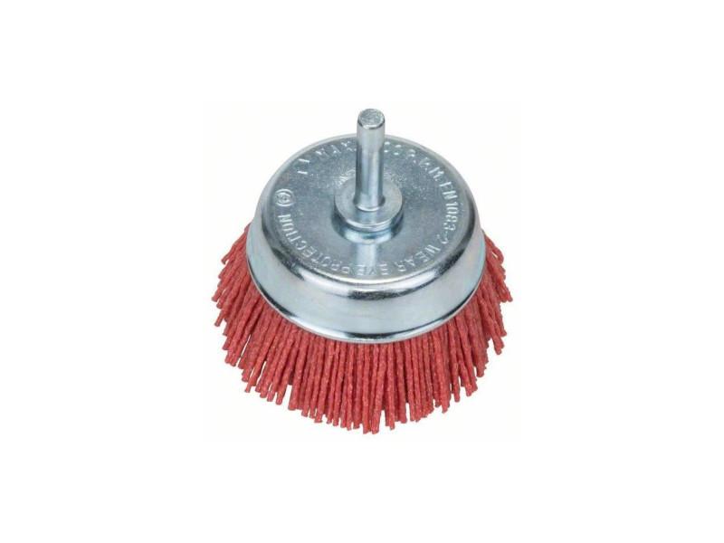 Accessoires - brosse boisseau fils nylon 75 mm 6mm - BOS3165140389440