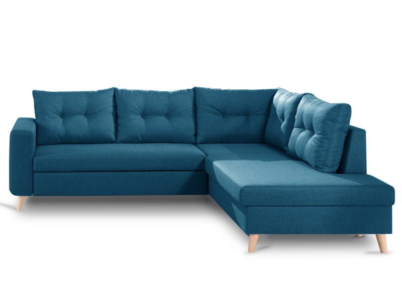 nordic canap scandinave d 39 angle droite l convertible. Black Bedroom Furniture Sets. Home Design Ideas