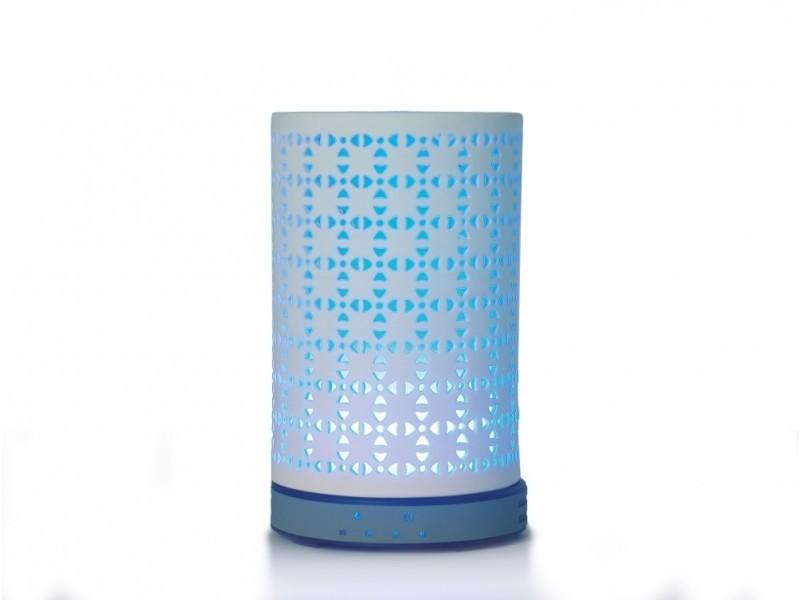 Diffuseur d'huiles essentielles 200ml humidificateur d'air ultrasonique aromathérapie avec lumière couleurs led SUMU 20 CERAMIC H