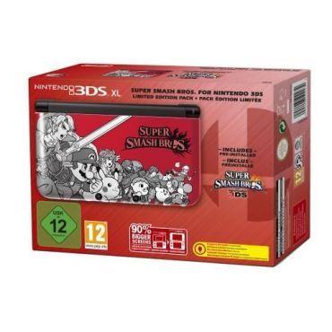 console nintendo 3ds xl super smash bros edition sp ciale 2203932 vente de console de jeux. Black Bedroom Furniture Sets. Home Design Ideas