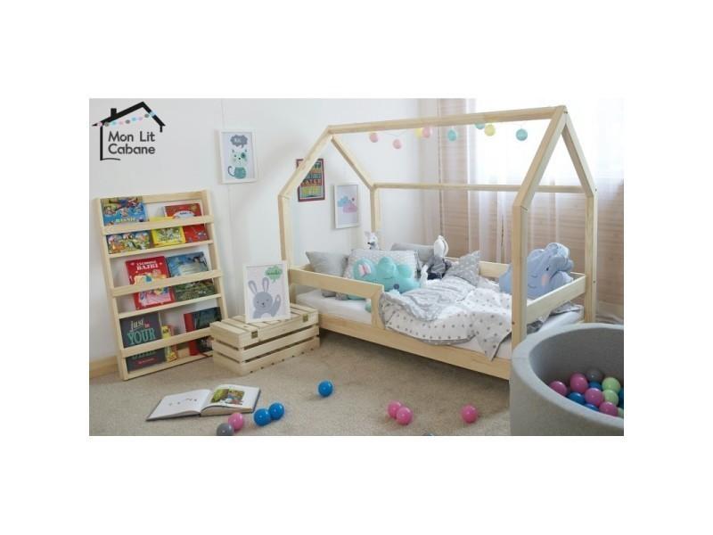 lit cabane cb 80x190 sommier vente de monlitcabane conforama. Black Bedroom Furniture Sets. Home Design Ideas