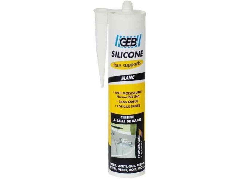 Geb Mastic Silicone Surface Synthétique Et émaillée