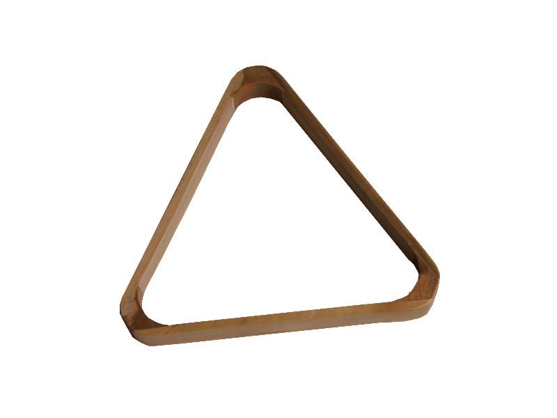 Triangle bois couleur châtaignier 50,8 mm