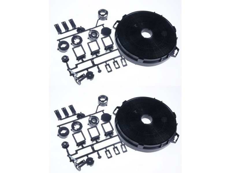Filtre charbons x2 diametre 210