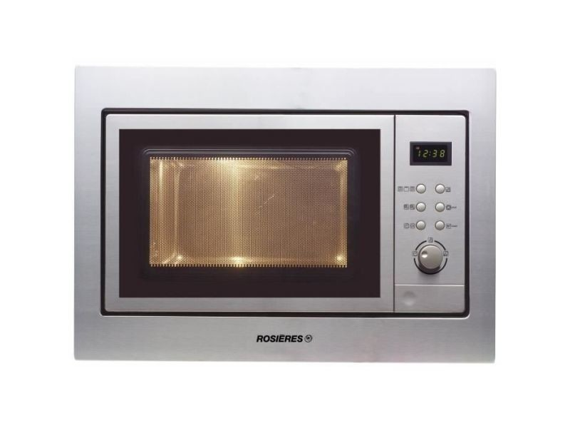 Micro-ondes encastrable 20l rosières 1000w 59.5cm, ros8016361767607 ROS8016361767607