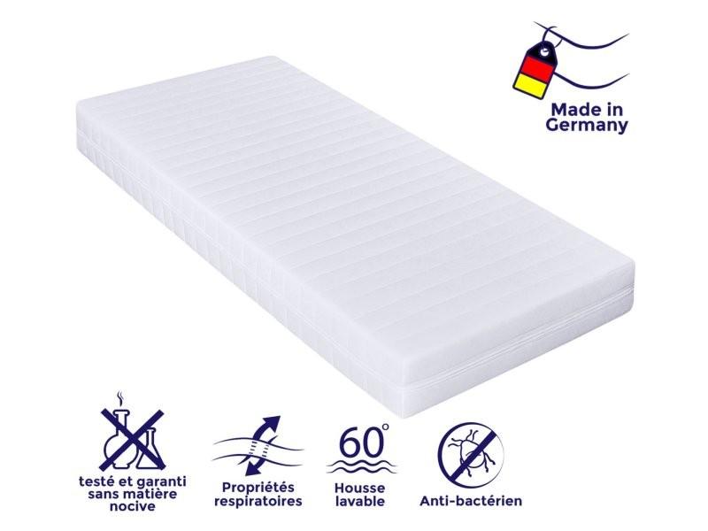 Matelas 90 x 190cm matelas ferme confortable pas cher matelas sommeil réparateur- épaisseur 15 cm