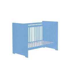 Lit bébé 60x120 bleu sérénity grain d'orge