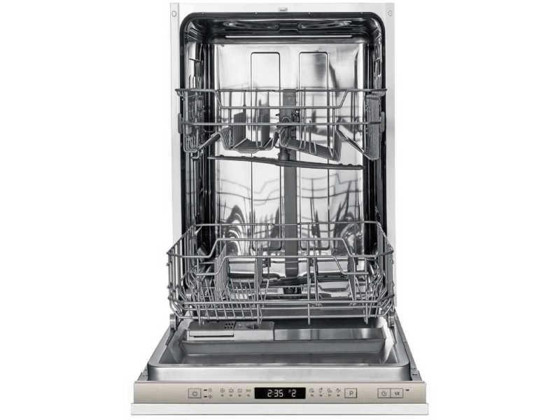 Lave vaisselle tout integrable 45 cm amica adf 0912 x