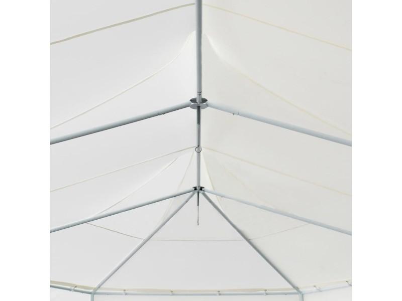 Icaverne - auvents et abris gamme tonnelle 834x448x320 cm blanc