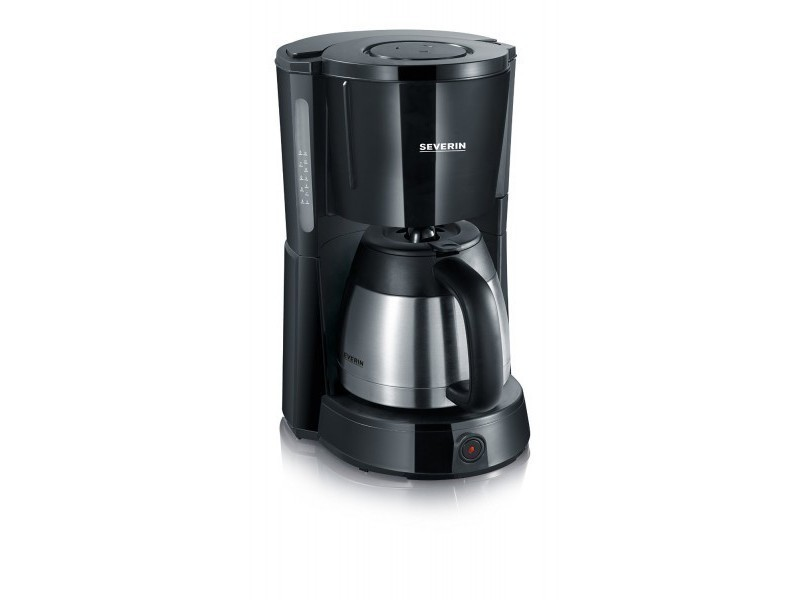 Severin cafetière isotherme 1 litre 10/15 tasses noire ka4131