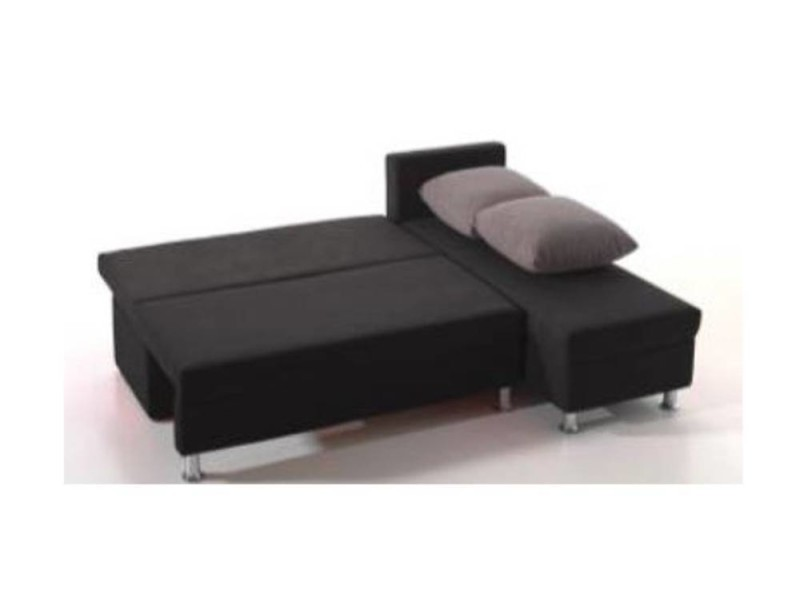 canap d 39 angle convertible rapido zaurak en microfibre 20100865679 conforama. Black Bedroom Furniture Sets. Home Design Ideas