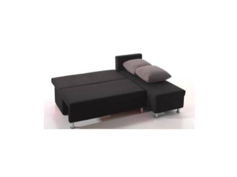 canap d 39 angle convertible rapido zaurak en microfibre 20100865679 conforama. Black Bedroom Furniture Sets. Home Design Ideas