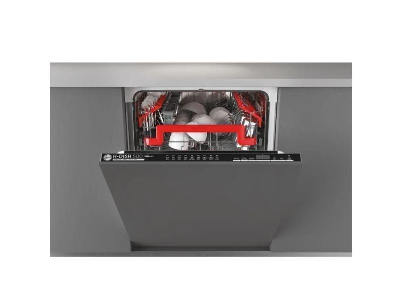 Lave-vaisselle encastrable hoover 16 couverts 60cm a+++, hoovhdin4d620pb HOOVHDIN4D620PB