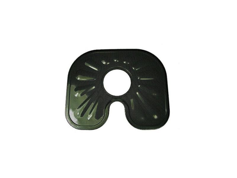 Assiette filtre inox