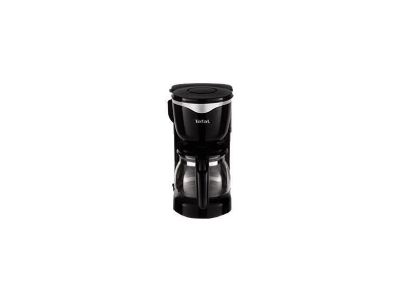 Tefal cm340811 cafetiere 6 tasses noir/inox 7443
