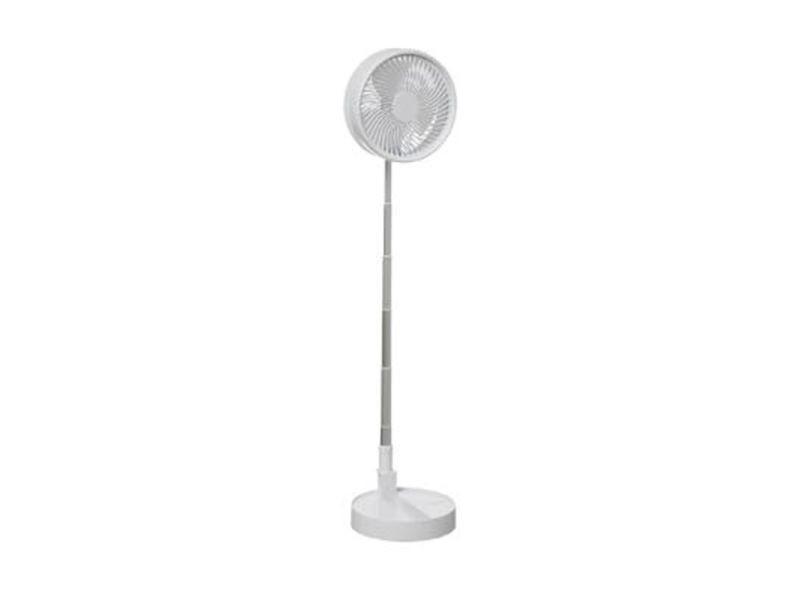 """Ventilateur design """"pliable"""" 179cm blanc"""