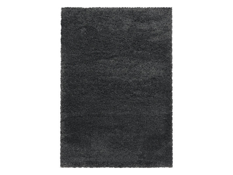 Bobochic tapis shaggy falma gris 160x230