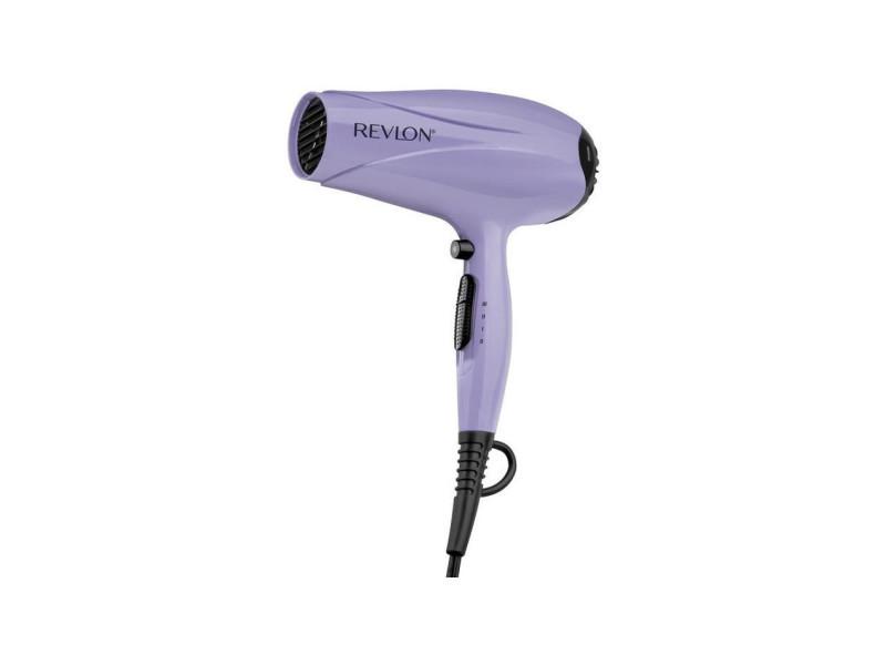 Revlon ultra quick dry - seche-cheveux 3 vitesses - 2000w - revetement ionique - touche air froid - embout amovible - violet REV0761318452614
