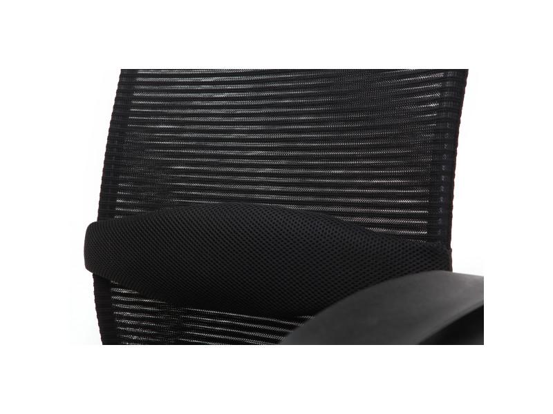 Fauteuil de bureau design noir adapt Vente de MILIBOO