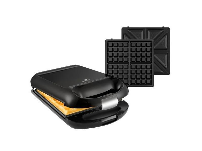 Senya gaufrier appareil à croque monsieur réversible pour 4 gaufres ou 4 croques family waffle 1200w