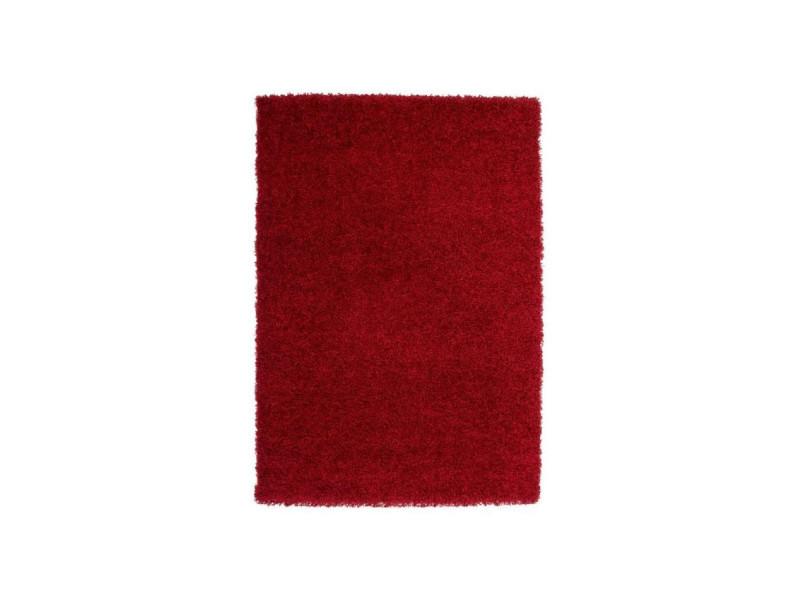 Trendy Tapis Shaggy Rouge 160 X 230 Cm Vente De Paillasson Conforama
