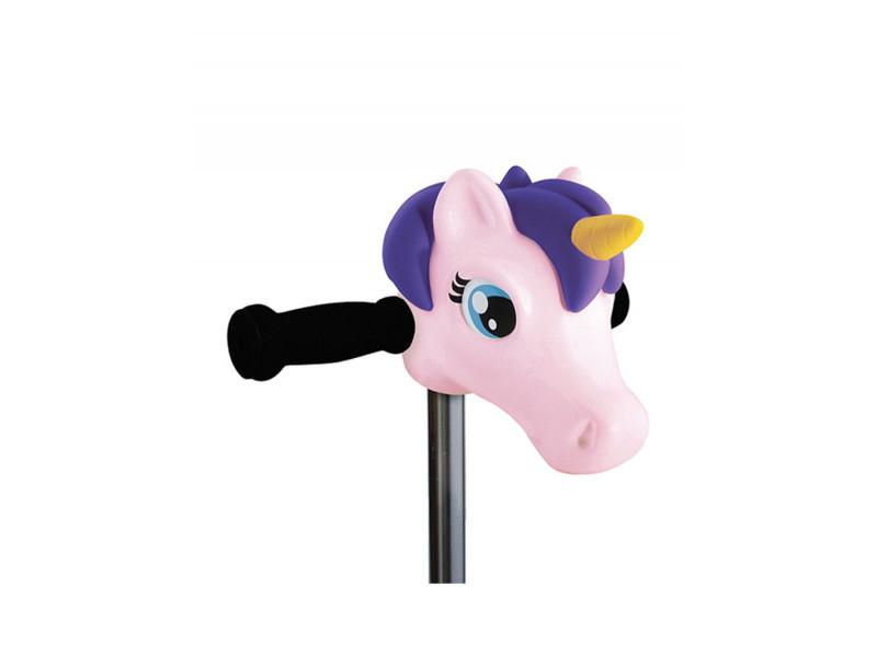 Tête de licorne rose 10302