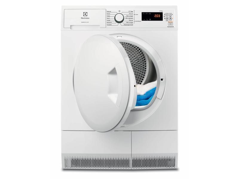 Sèche-linge à condensation 7kg electrolux 60cm b, ew 6 c 4723 sc