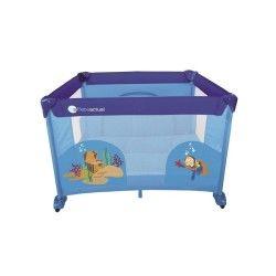 Parc pliant Baby Fox 100 cm x 100 cm Sirène - Bleu