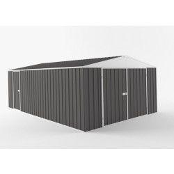 Easy shed - garage grande dimension interieur xxl avec puit de lumière 19,95m2 - egar-7530-sg-198