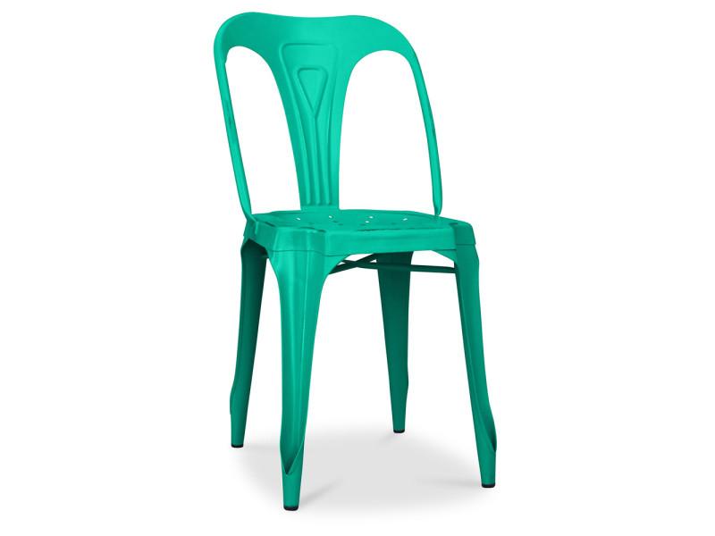 Multipl's Précisé Industrielle Vente Chaise Vintage Vert De Non zVqUSMp