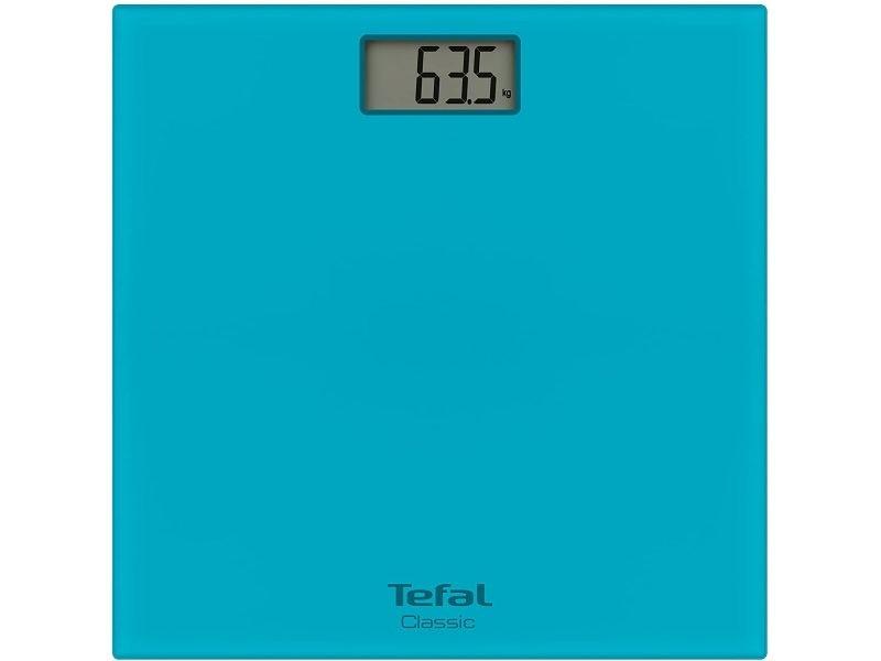 Pèse personne électronique classic ultra-fin avec écran lcd 160kg bleu