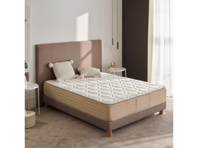 Matelas 160x190 cm avec mémoire de forme supreme thermal comfort ±27cm