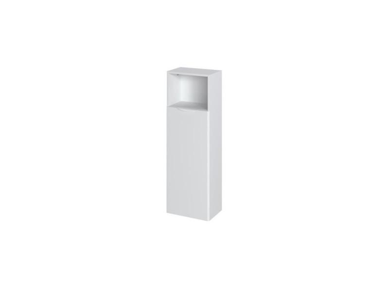 Solna colonne salle de bain - l 40 cm blanc laqué et mat T50504ML01LVO