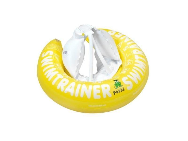 Bouee - brassard - flotteur - gonflable de securite enfant freds swim academy bouée bébé swimtrainer jaune - 4 a 8 ans