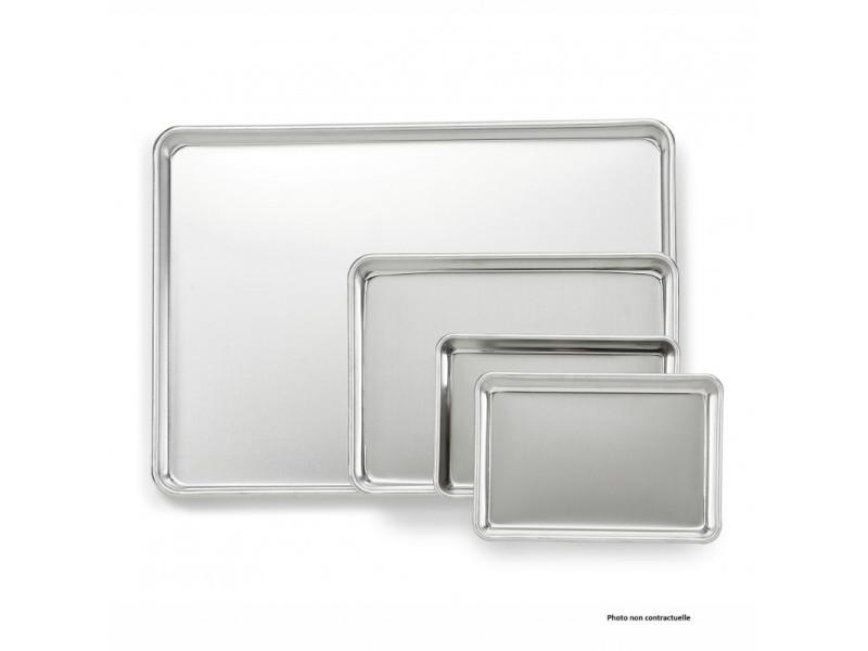 Plaque à pâtisserie en aluminium gn 1/8 - pujadas - inox