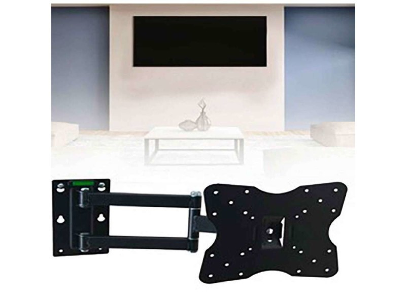 support tv mural crans 43 81cm 25kg conforama. Black Bedroom Furniture Sets. Home Design Ideas