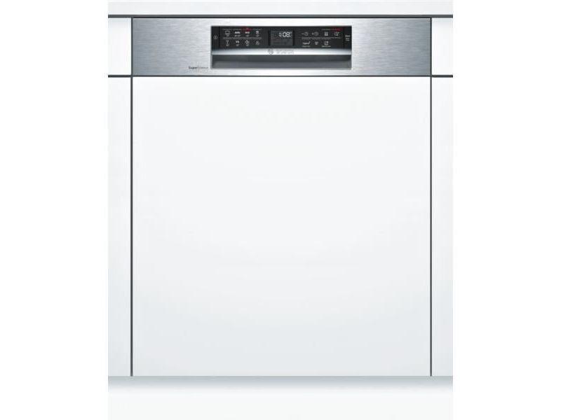 Lave-vaisselle 60cm 13c 44db a+++ intégrable avec bandeau inox - smi68is00e BOSSMI68IS00E