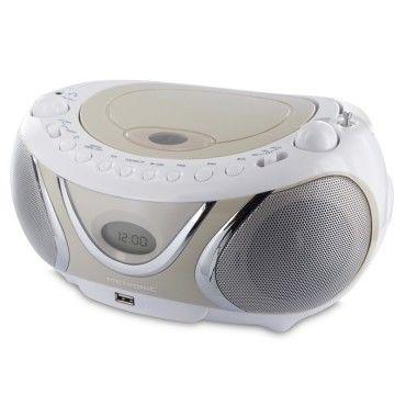 Metronic radio cd mp3 fm casual avec port usb 477116 Vente