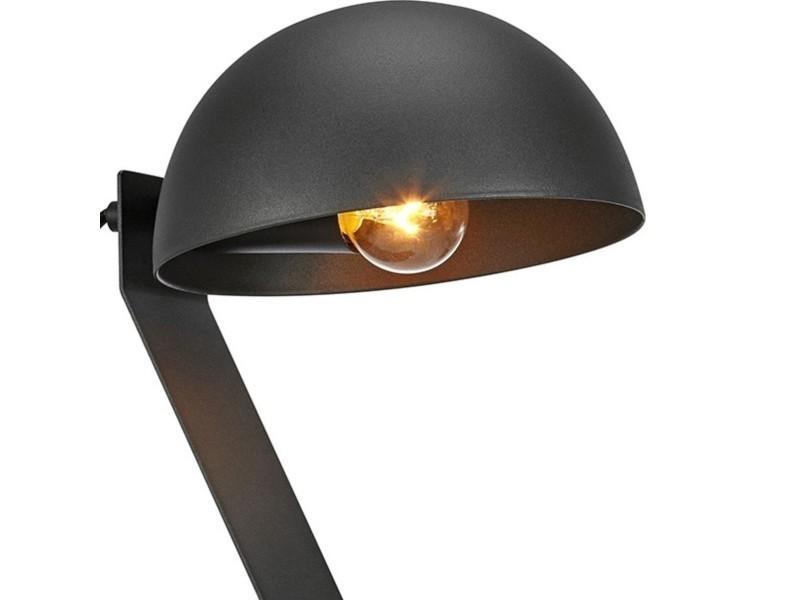 Lampe de bureau flamingo noire en métal vente de keria
