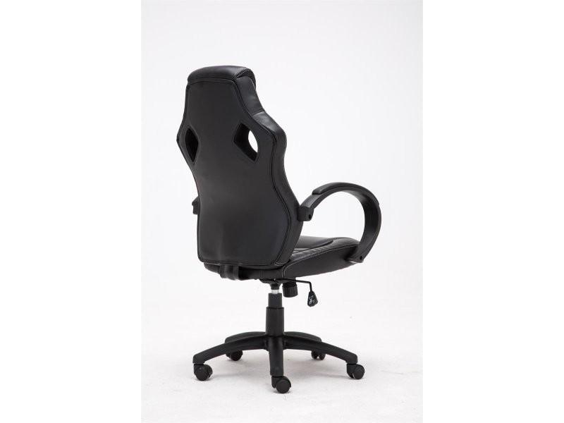 Fauteuil chaise de bureau à roulettes hauteur réglable en