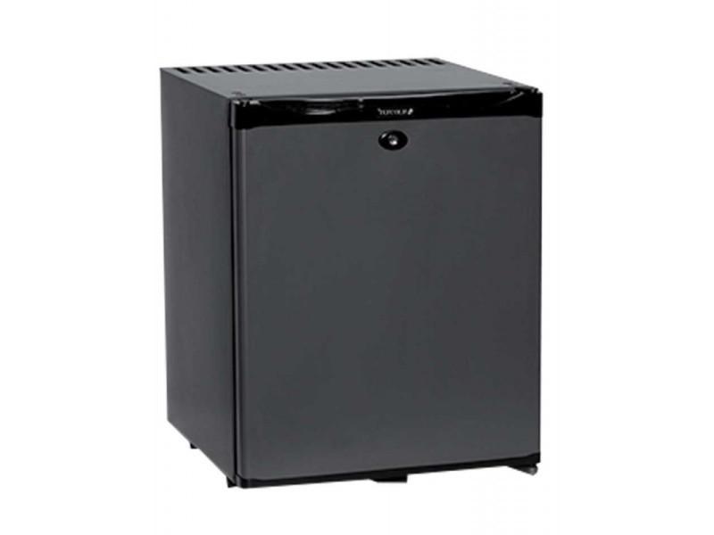 Arrière bar réfrigéré noir porte pleine - tm - 30 à 51 litres - 1 porte 30 litres pleine/battante