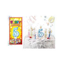 Bougies chiffres anniversaire - bougies chiffres anniversaire 5 - bougies chiffres anniversaire 5