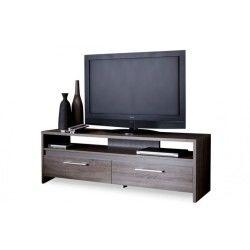 Banc tv 139cm couleur chêne foncé