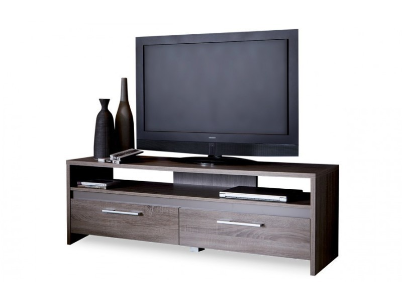Banc tv 139cm couleur ch ne fonc vente de vestiaire for Banc tv chene
