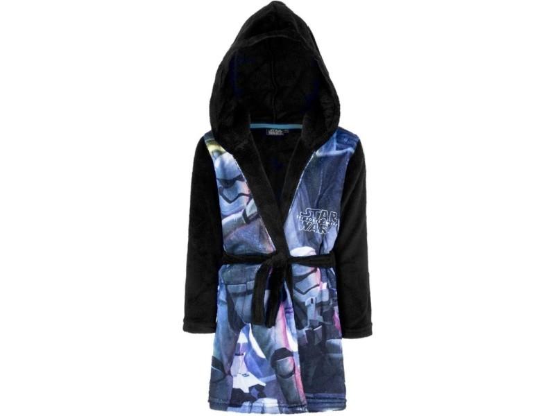 0c01010c0fab0 Peignoir polaire star wars 4 ans robe de chambre capuche noir ...